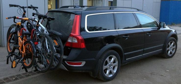 Преимущества и недостатки багажников для велосипедов