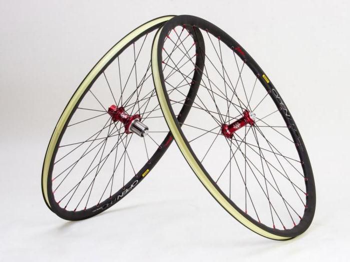 Строение заднего колеса скоростного велосипеда