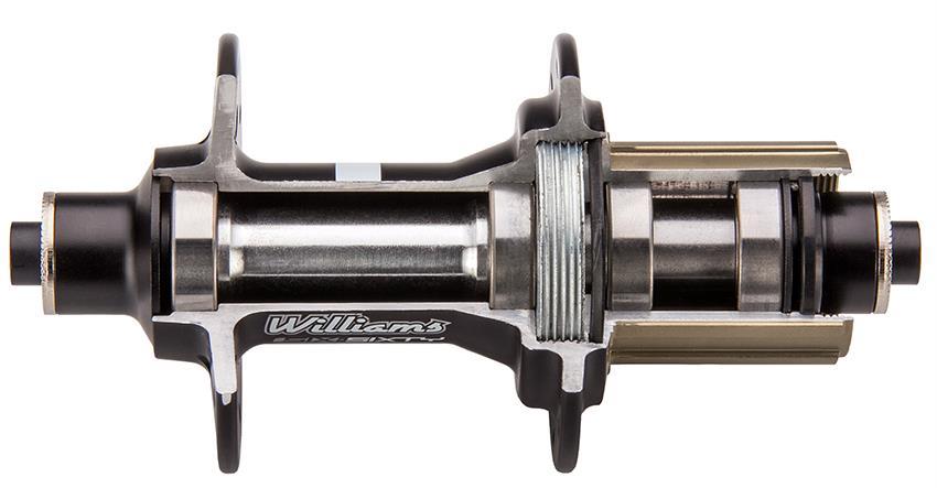 rear hub cross section web