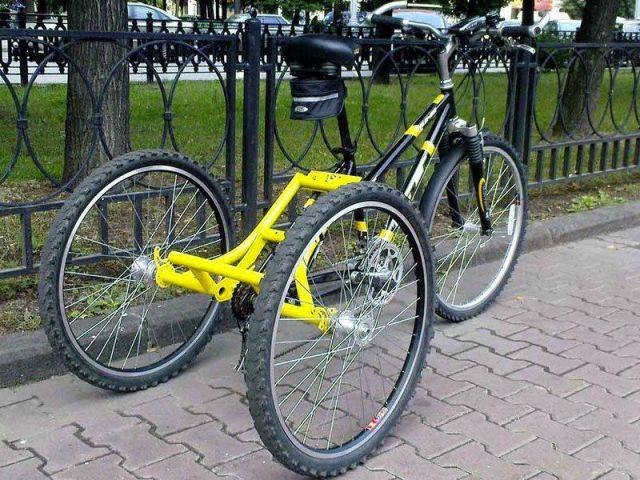 Трицикл для пожилых