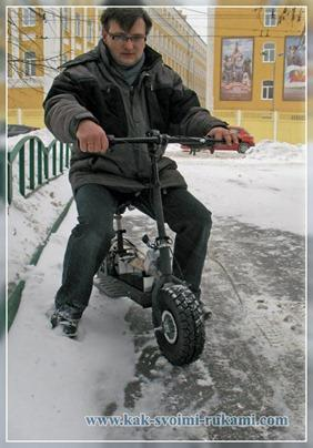 электрический скутер своими руками