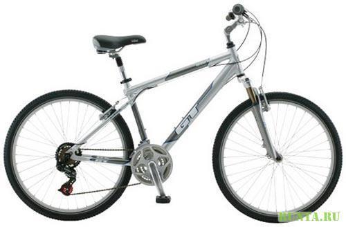 Любительский велосипед GT для загородного катания