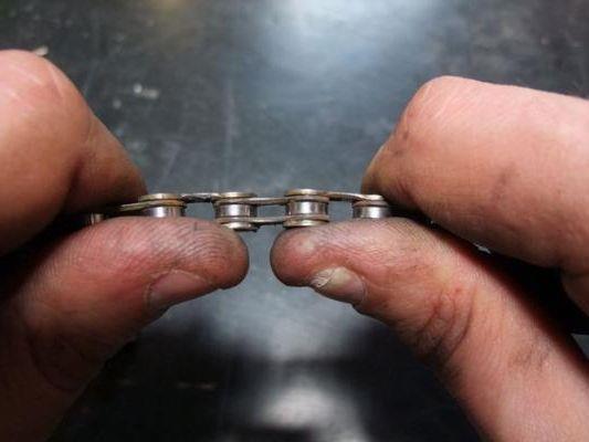 как починить цепь велосипеда