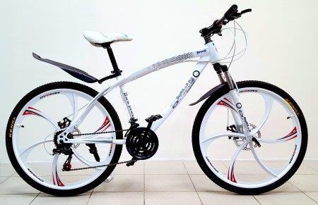 """Велосипед BMW 26"""" с литыми дисками, белый"""