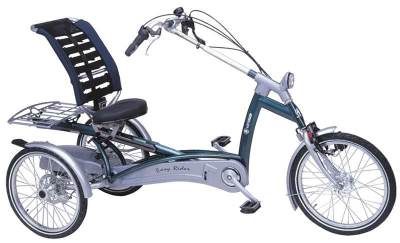 Трёхколёсный электровелосипед EZ Rider для взрослых