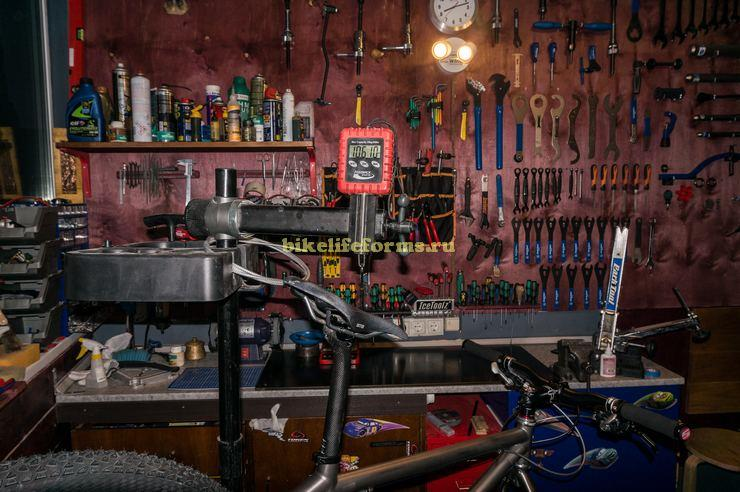 Вес титанового велосипеда