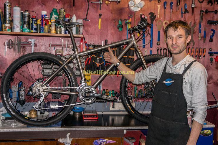 """Моя небольшая мастерская bikelifeforms """"для своих"""""""