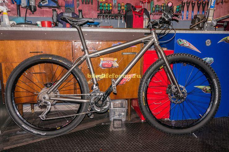 Велосипед из Титана