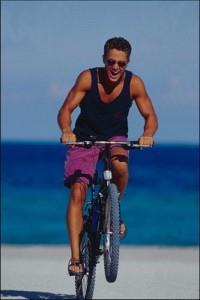 Мужчинам и женщинам: секс и велосипед