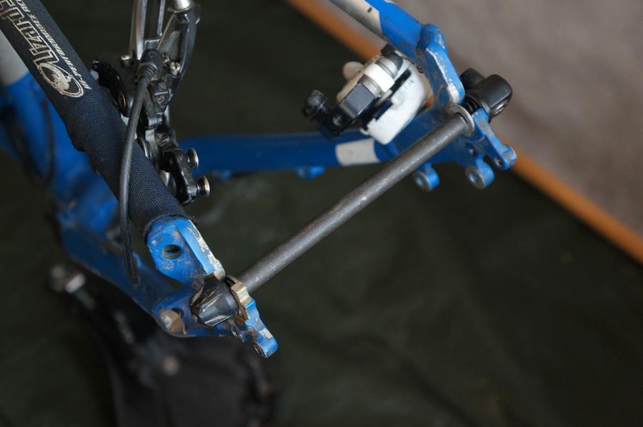 Как разобрать велосипед детский с ручкой