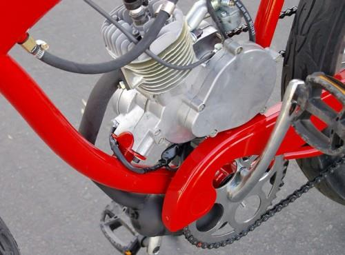 мотокомплект для велосипеда фото 2