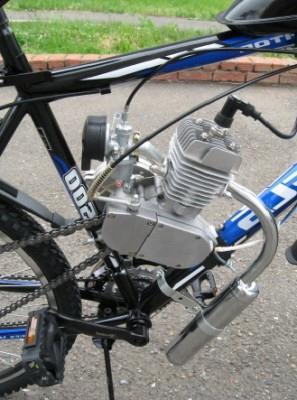 мотокомплект для велосипеда фото