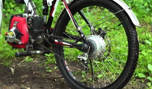 электромотор для велосипеда своими руками фото