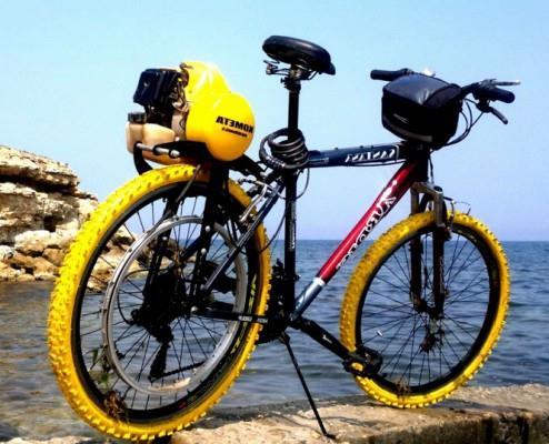 мотокомплект для велосипеда фото 1