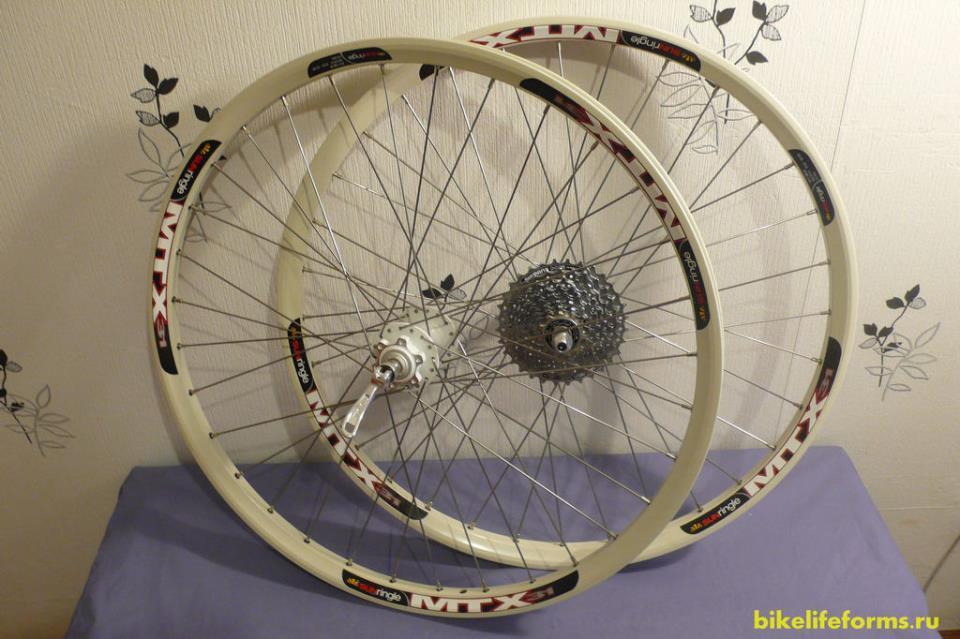 самосборные колеса