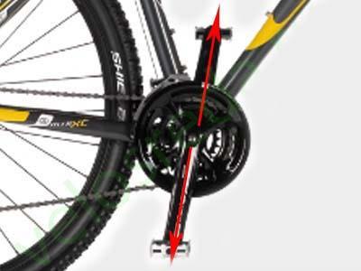 Установка шатунов велосипеда