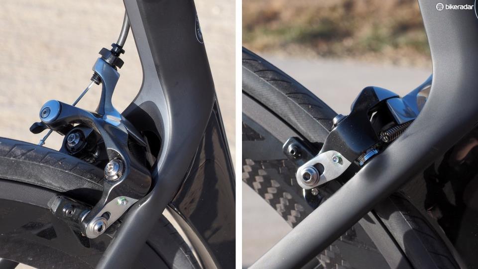 Ободные тормоза шоссейного велосипеда