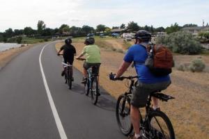 Дистанция для велосипедиста