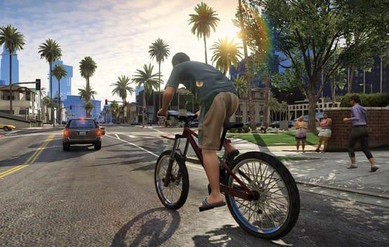 ГТА 5 велосипеды