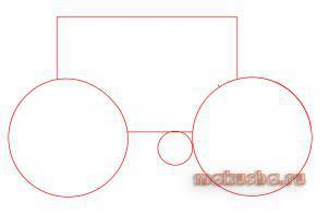 Как нарисовать велосипед шаг за шагом