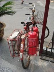 нетрадиционное использование велосипеда