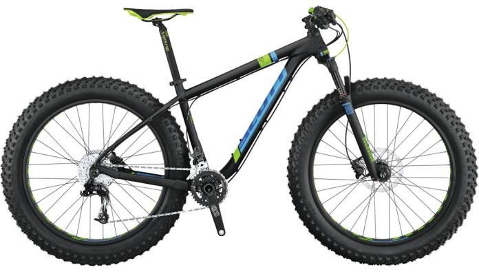 Велосипед с широкими колесами Scott Fat Ed