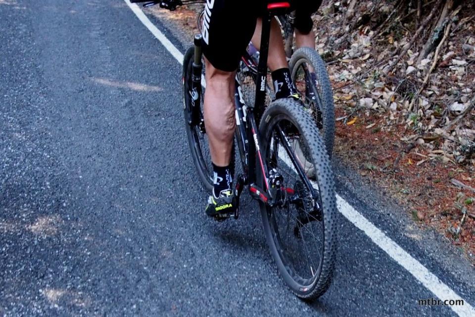 Варикоз у велосипедиста