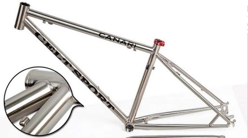 велосипедная рама из стали