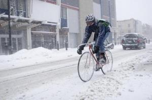 Зимняя велопрогулка