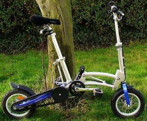 Французский складной велосипед Mobiky Genius