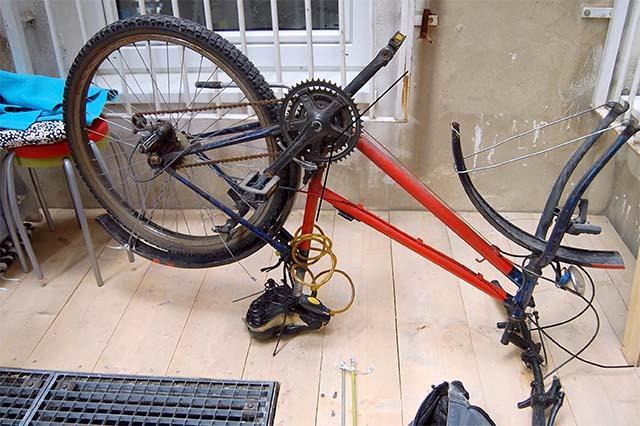 Ненужный велосипед донор для сборки самодельного трайка