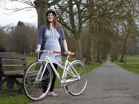 катание на велосипеде во время беременности