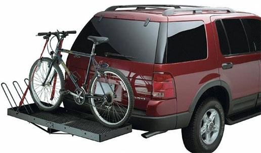 Багажник для велосипеда на фаркоп автомобиля