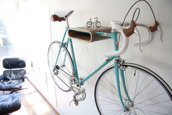 Хранение велосипеда в квартире — 17 идей размещения