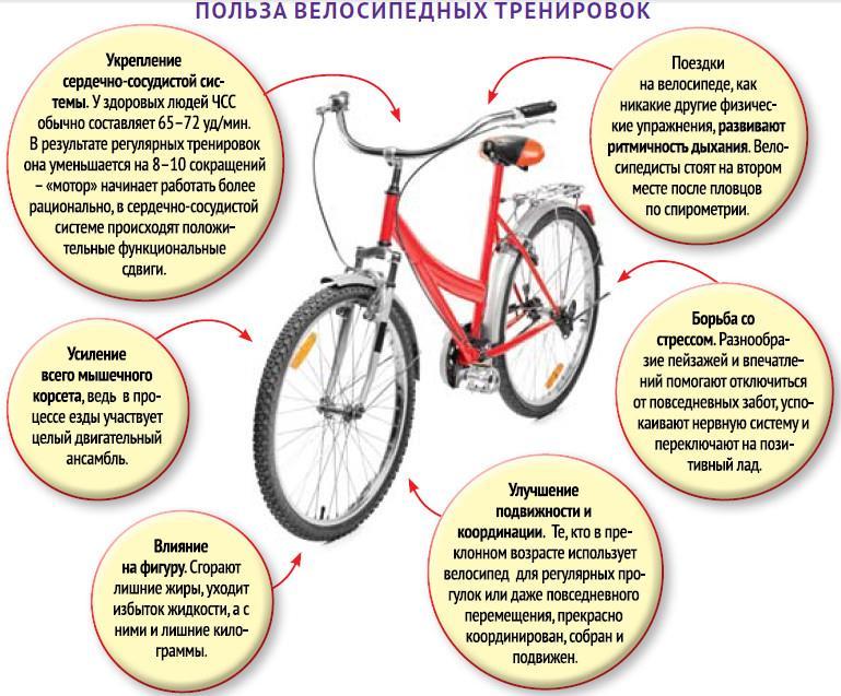 велосипедные тренировки