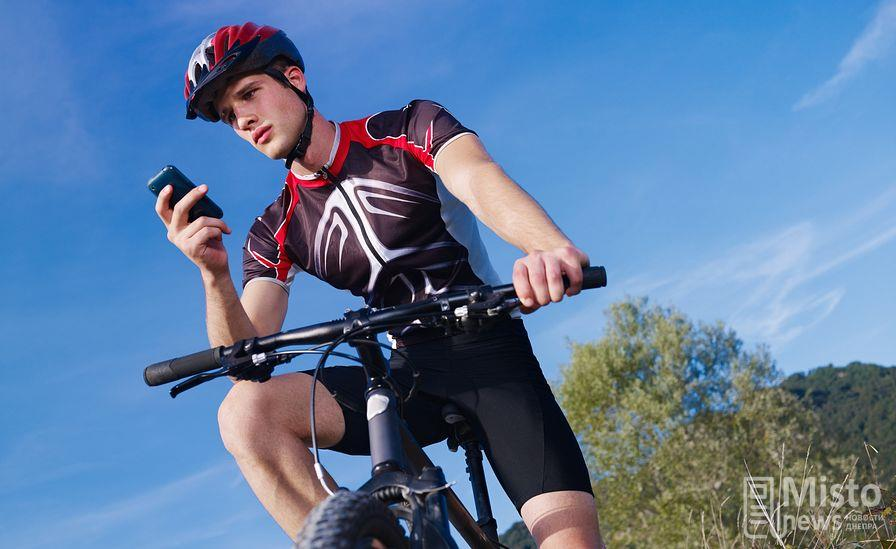 приложение велосипедист