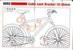 велосипедный замок 5031GLO