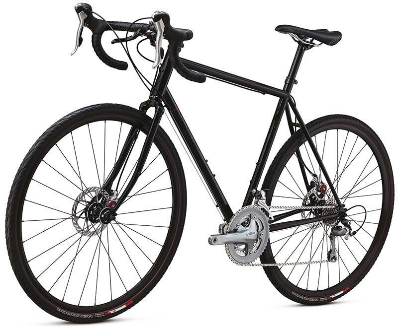 Шоссейный велосипед с рамой из стали Specialized Elite Steel Disc Triple