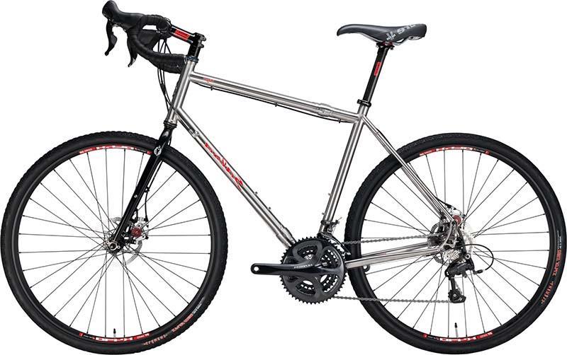 Самый лучший стальной шоссейный велосипед Salsa Vaya Travel