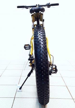 Велосипед Фэтбайк Fatbike, цвет золотой