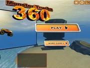 Гонка на джипе-монстре 360
