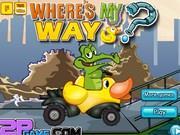 Крокодильчик Свомпи 9: Гонки на утке