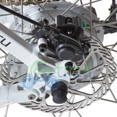 Задний дисковый тормоз электровелосипеда shimano