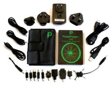 Зарядное устройство USB Pedal Power Plus V4i Battery Kit и универсальный iCable
