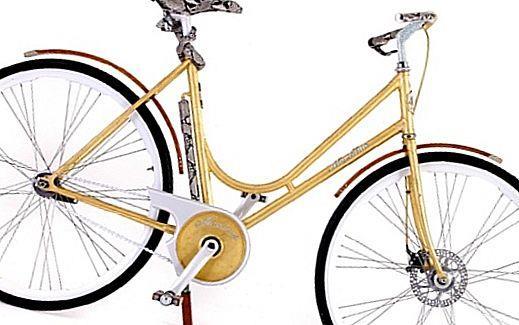 Золотой велосипед от Montante