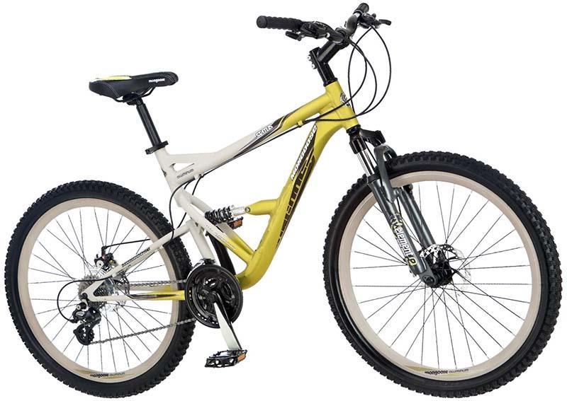 Велосипед двухподвес для кросс-кантри начального уровня Mongoose Status
