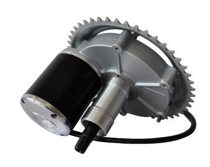 центральный мотор для электровелосипеда