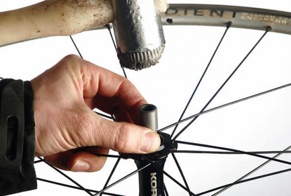 извлечение подшипников велосипеда