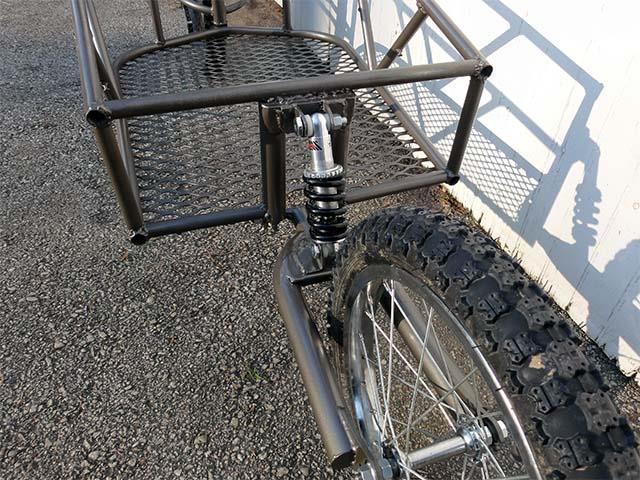 Грузовой велосипедный прицеп своими руками