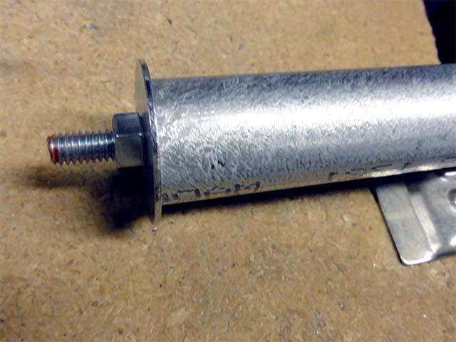 Шарнирная труба для самодельного велоприцепа